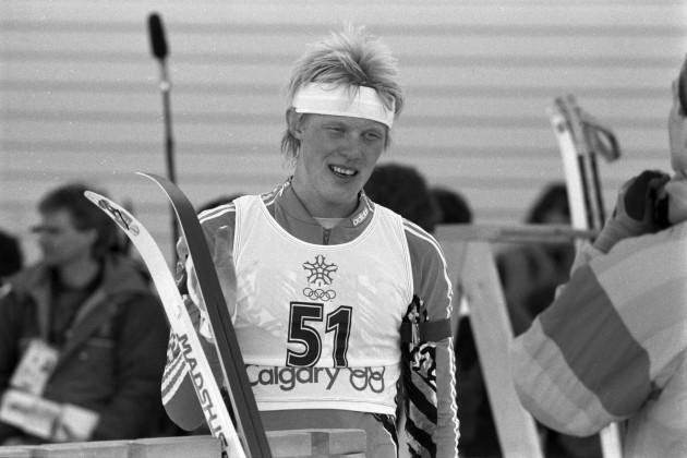 Сергей Чепиков на Олимпиаде-1988