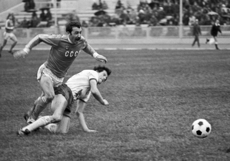 Валерий Газзаев в сборной СССР