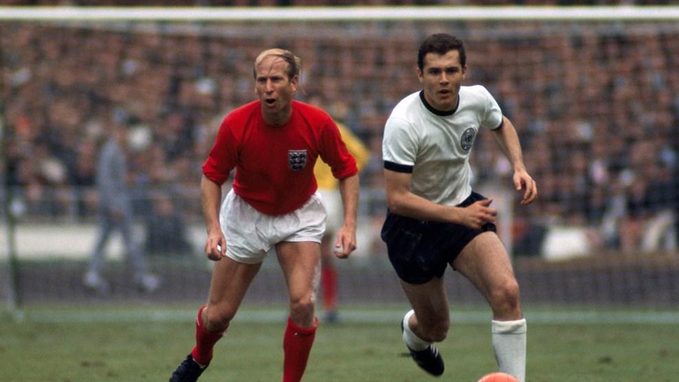 Франц Беккенбауэр на чемпионате мира-1966