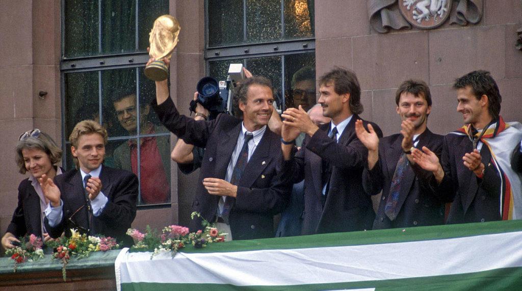Франц Беккенбауэр - чемпион мира 1990 года