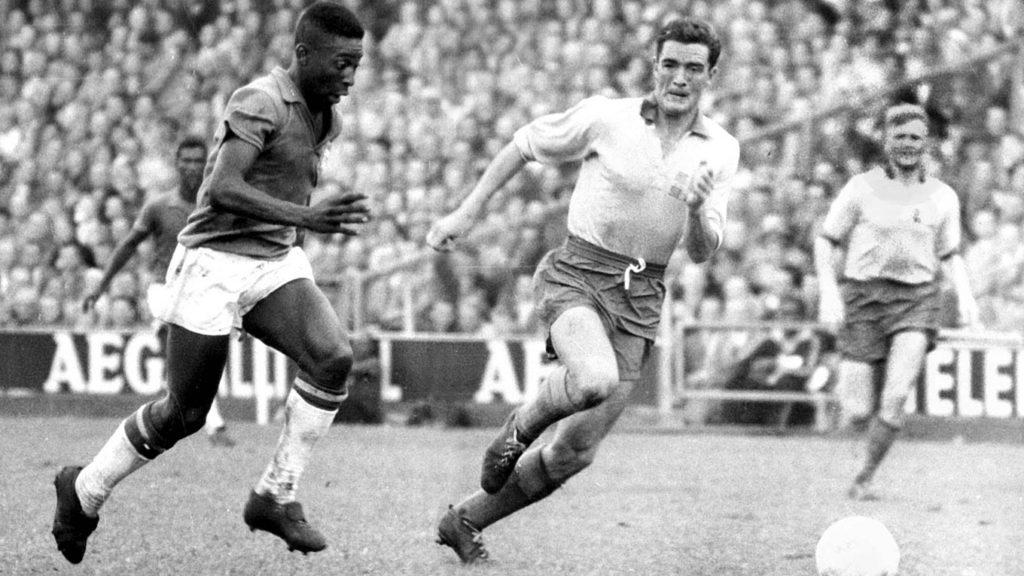 Пеле на чемпионате мира-1958
