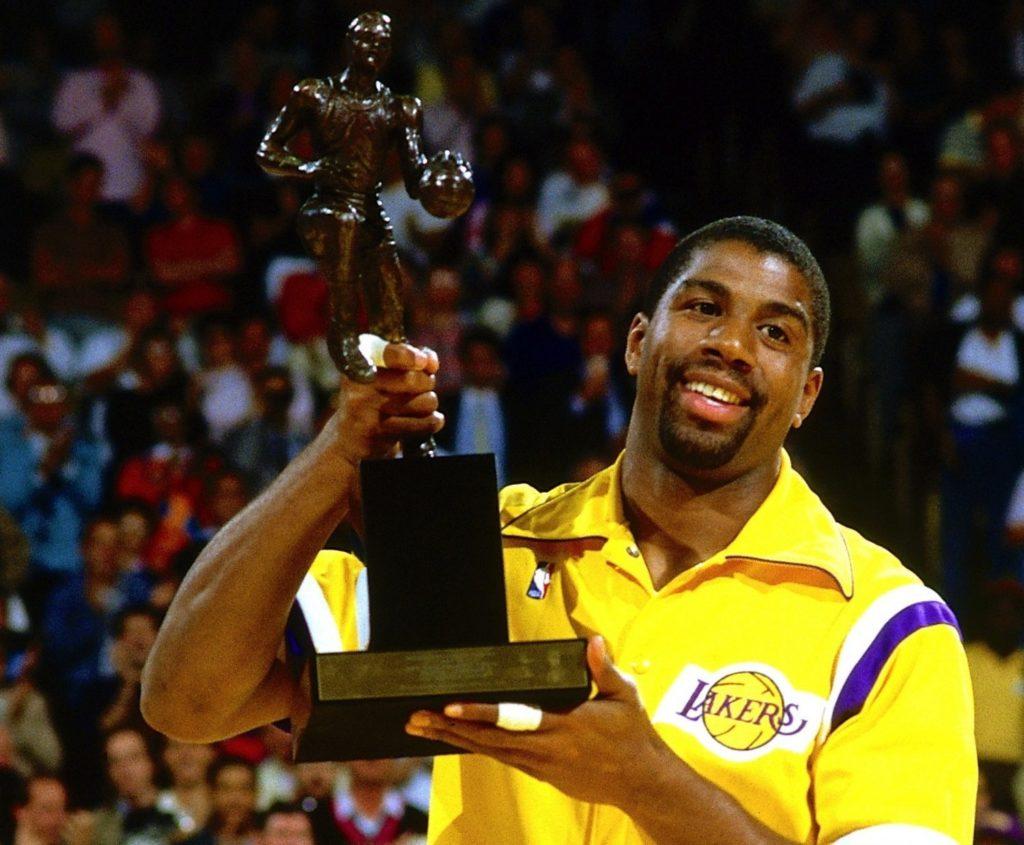 Мэджик Джонсон - MVP НБА