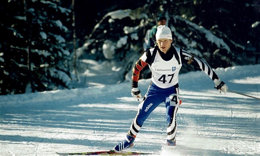 Владимир Драчев на Олимпиаде-1994