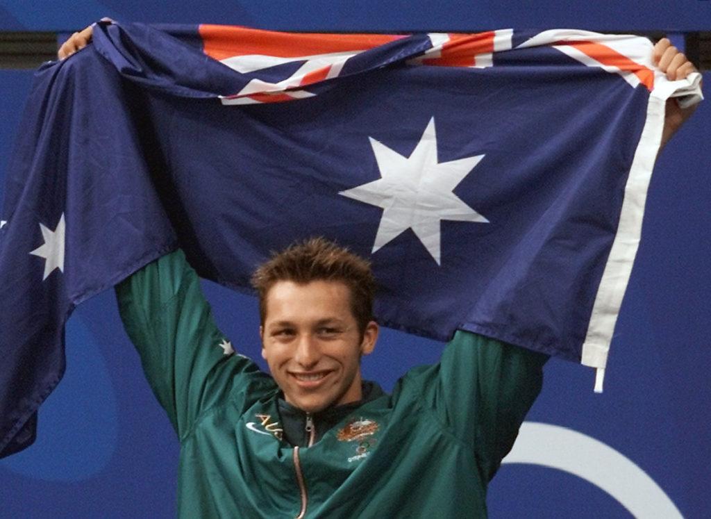 Иан Торп на Олимпиаде-2000