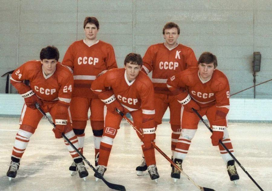 Игорь Ларионов в сборной СССР