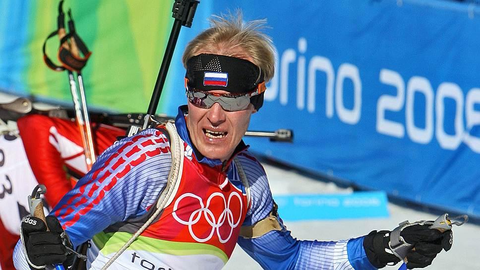 Сергей Чепиков на Олимпиаде-2006