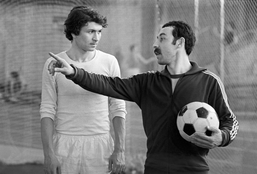 Валерий Газзаев - начинающий тренер
