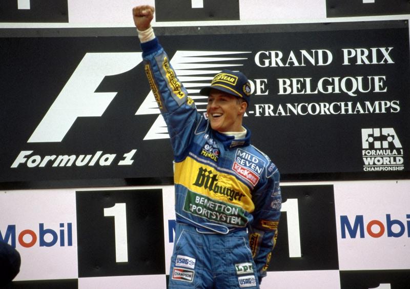 Михаэль Шумахер в Benetton