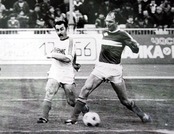 Валерий Газзаев - бомбардир московского «Динамо»