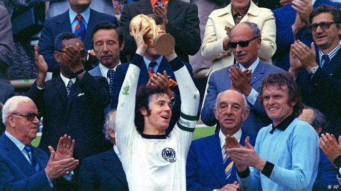 Франц Беккенбауэр - чемпион мира 1974 года