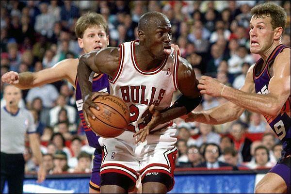 Майкл Джордан в финальной серии плей-офф НБА 1993 года