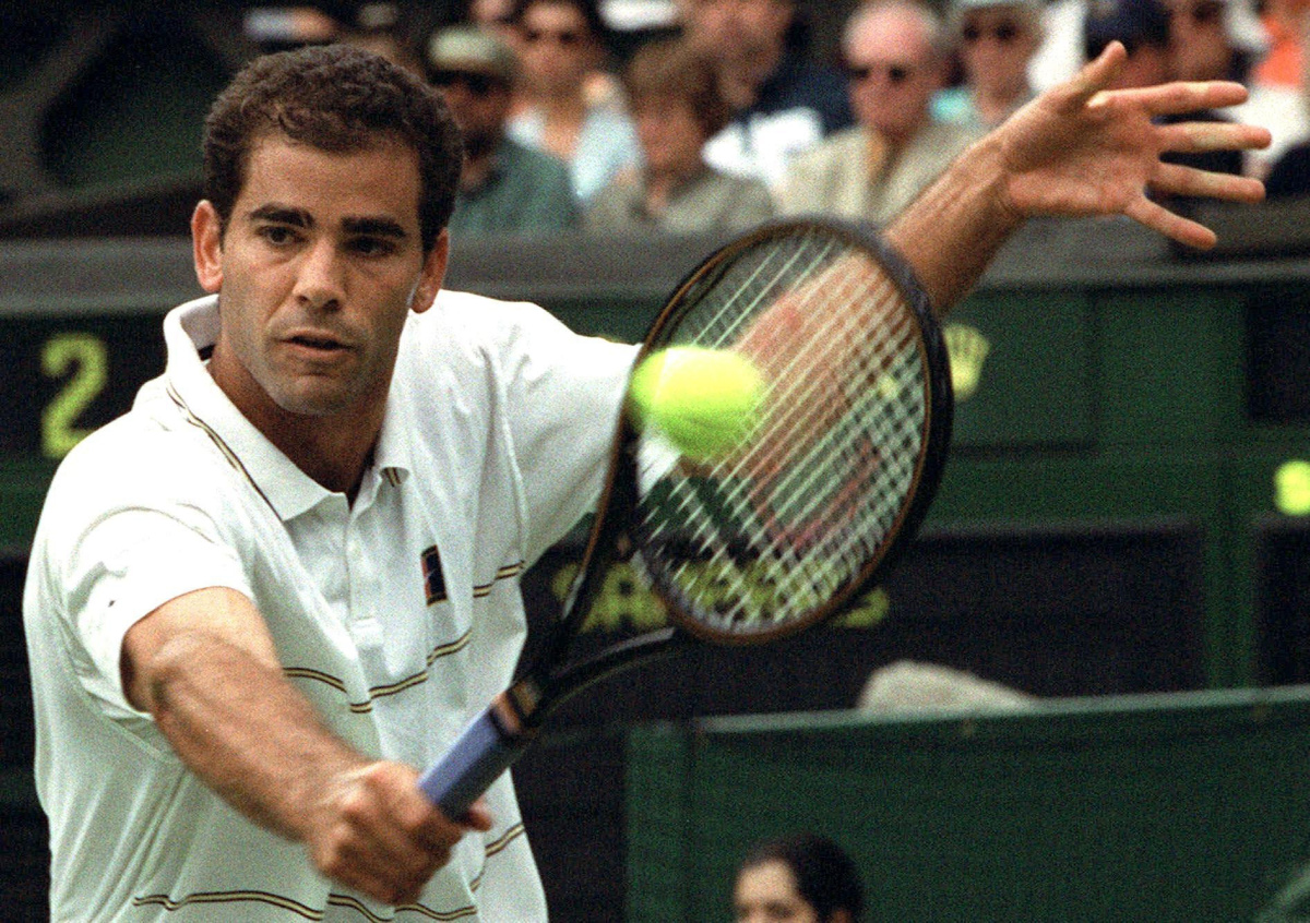 a biography of pete sampras a true tennis champion Pete sampras biography - tennis player tennis player pete sampras is one of the greatest tennis players of all time in 2002 he set the career mark for most grand slam victories with 14 titles.