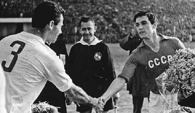 Валерий Воронин в сборной СССР