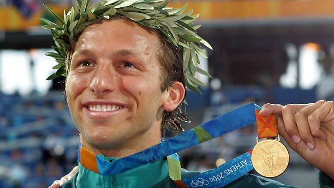 Иан Торп - олимпийский чемпион 2004 года