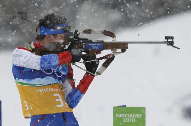 Максим Чудов на Олимпиаде-2010