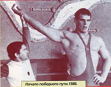 Александр Карелин в молодости