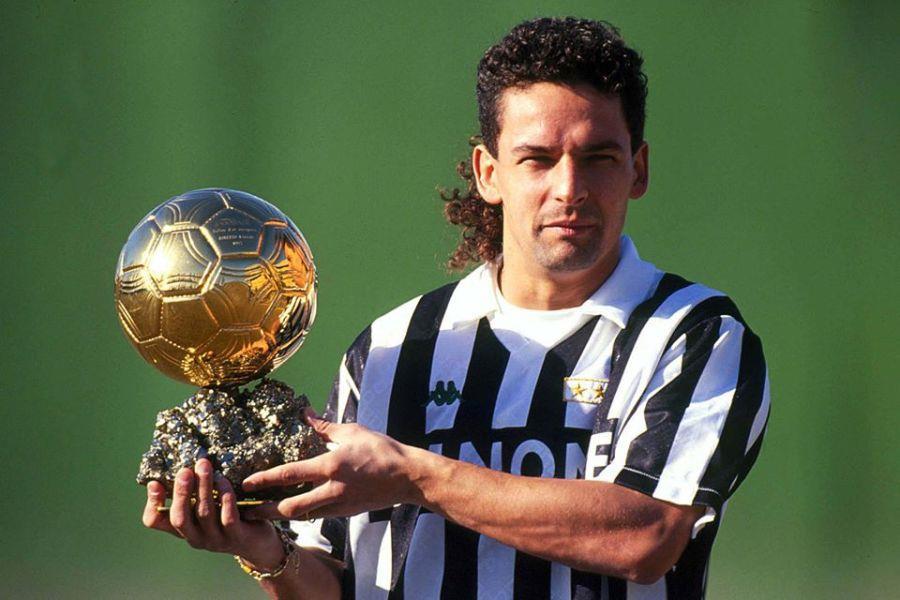 Роберто Баджо - обладатель Золотого мяча 1993 года