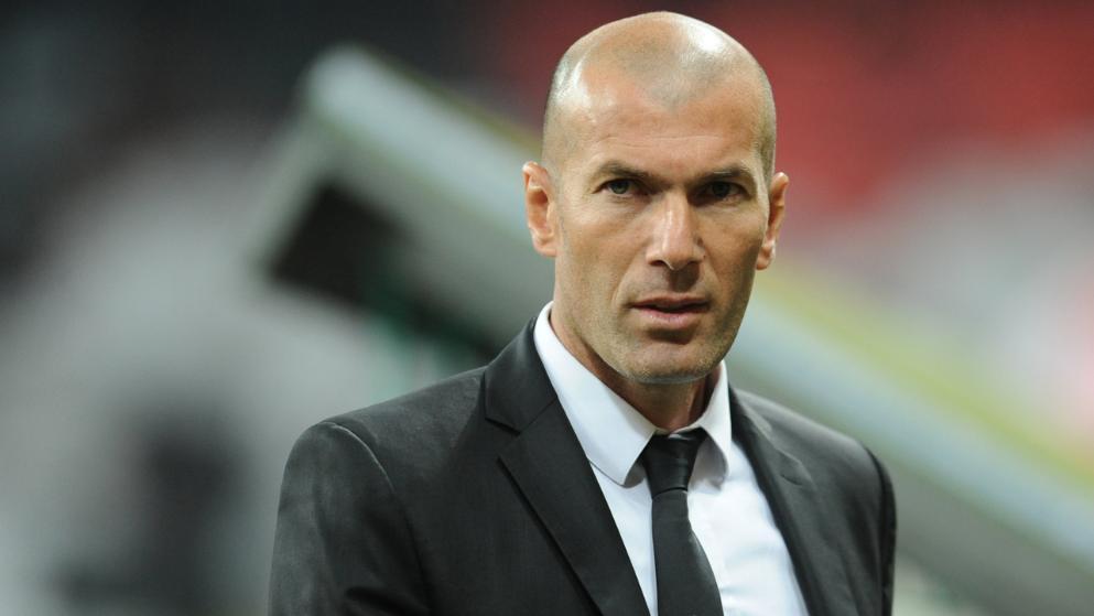 Зинедин Зидан - тренер «Реала»