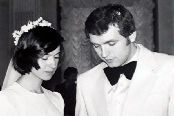 Александр Белов с женой Александрой Овчинниковой