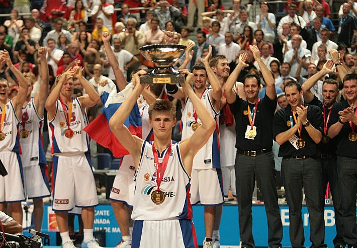 Андрей Кириленко - чемпион Европы-2007
