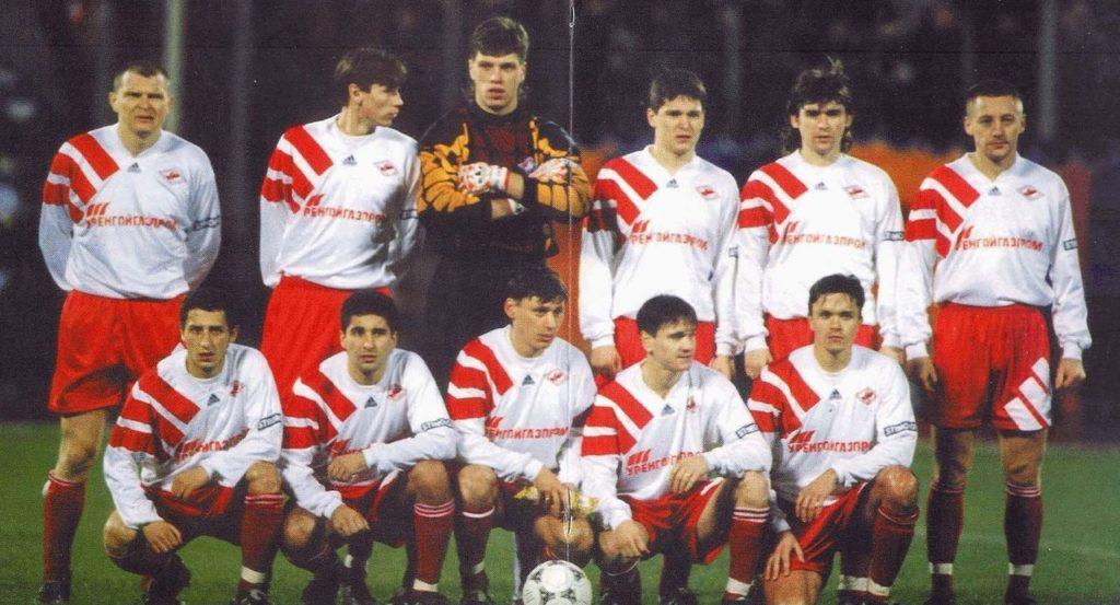 Андрей Тихонов - лидер «Спартака»-1996