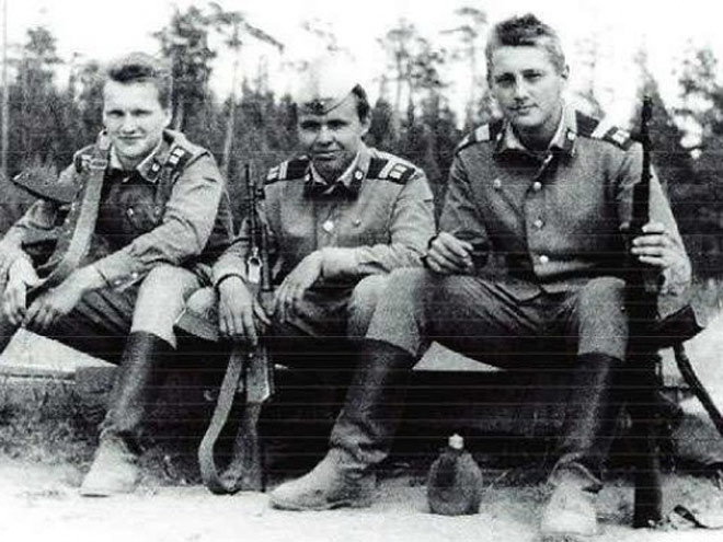 Андрей Тихонов в армии