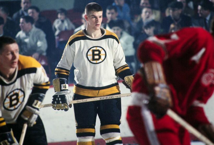 Бобби Орр - молодой защитник «Бостон Брюинз»
