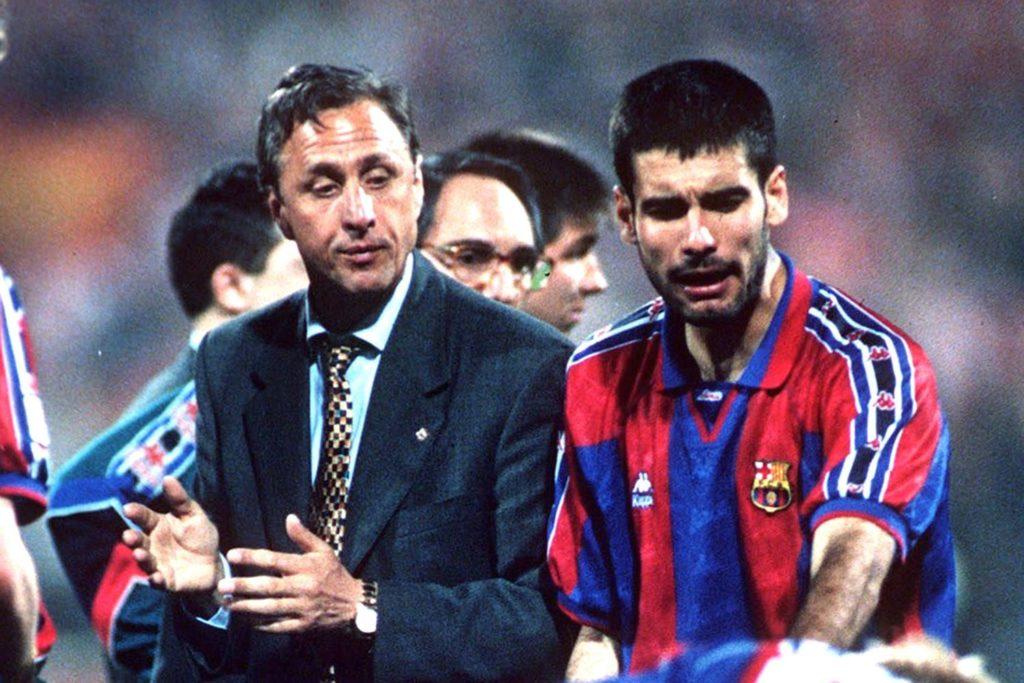 Йохан Кройф - главный тренер «Барселоны»