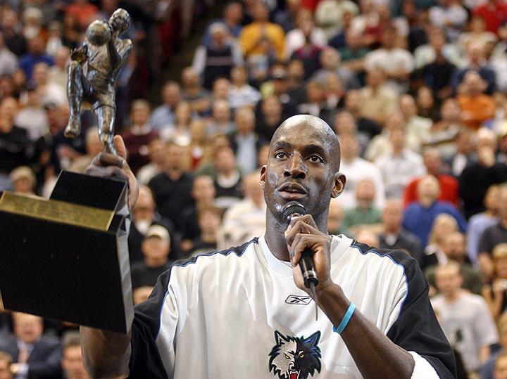 Кевин Гарнетт - MVP НБА