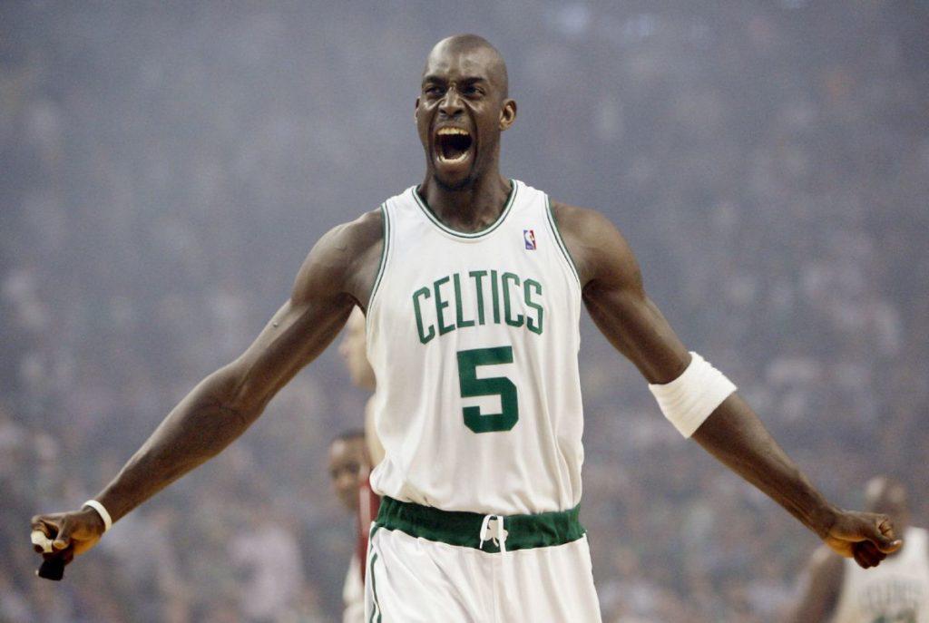 Кевин Гарнетт - лидер «Бостон Селтикс»