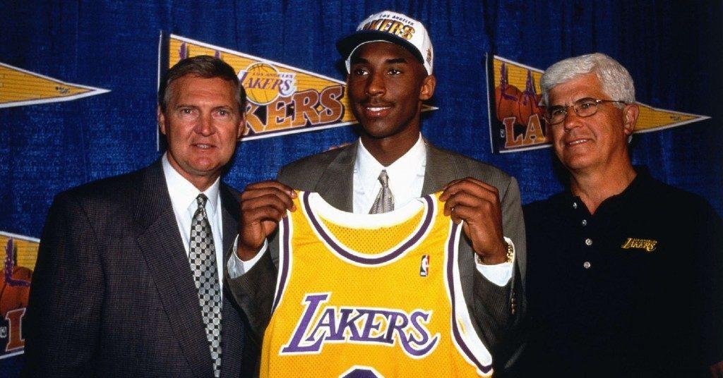 Коби Брайант на драфте НБА 1996 года