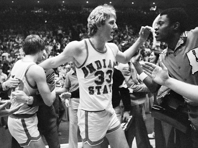 Ларри Берд в NCAA
