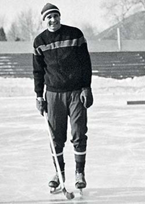 Лев Яшин в хоккее