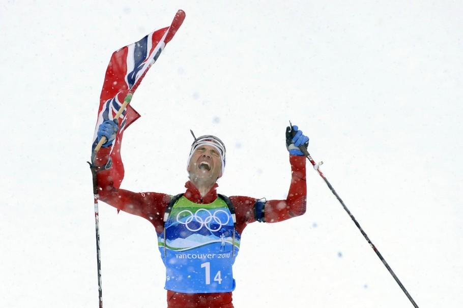 Уле Эйнар Бьорндален — олимпийский чемпион 2010 года в эстафете