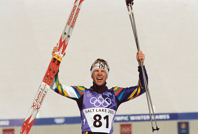 Уле Эйнар Бьорндален - триумфатор Олимпиады-2002 в Солт-Лейк-Сити
