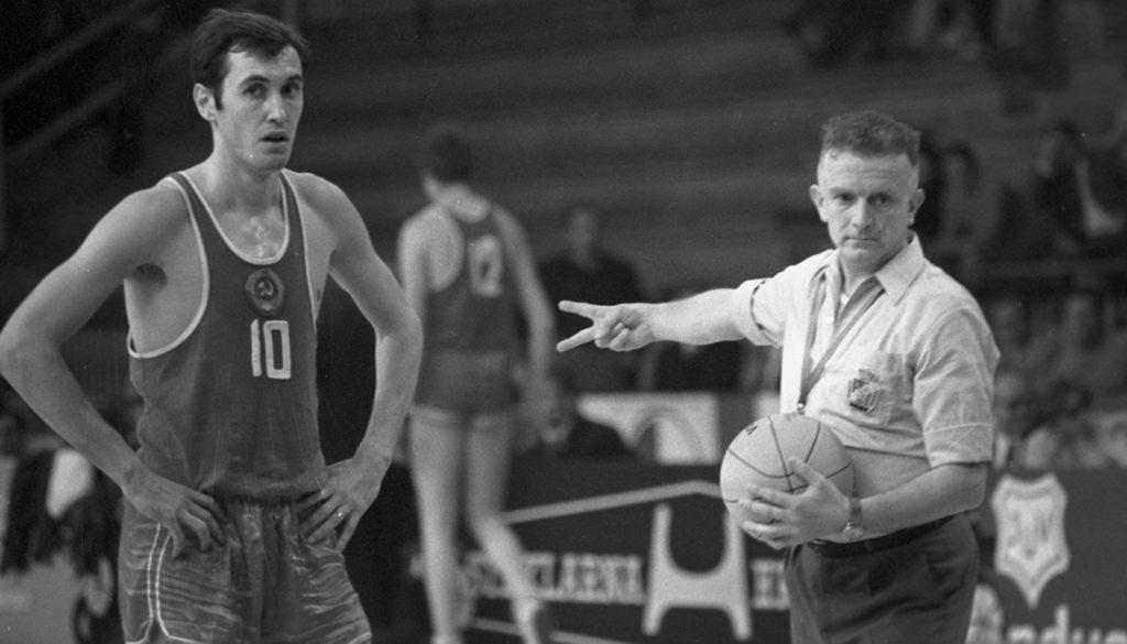 Сергей Белов в составе сборной СССР